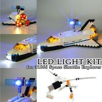 LED Light Kit for Lego 31066 Space Shuttle Explorer Building Blocks Toys Bricks