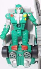 Transformers RID X-BRAWN complete robots in disguise 2000 car spychanger spy