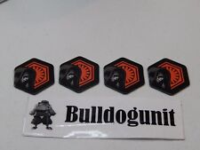 2015 Star Wars 6 in 1 Games Replacement All 4 Battle Coins Parts Only