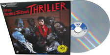 Michael Jackson LaserDisc MAKING OF THRILLER Laser Disc LD JAPAN 1983