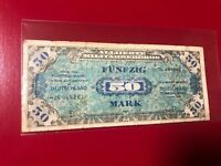Germany - WWII  -  Allied Currency  1944, 50 Mark Funfzig