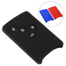 4 Button BTN Silicone Remote Key Cover Case Fob For Renault Clio Logan Megane