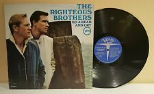 The Righteous Brothers Go Ahead And Cry,LP 1966 Verve V-5004 (VG+Vinyl)1st Press