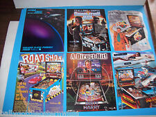 Lot Of (6) ORIGINAL NOS WILLIAMS WPC PINBALL MACHINE FLYERS 1993-95 set  #18