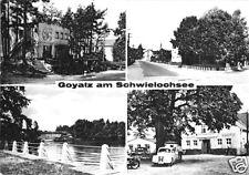 AK, Goyatz am Schwielochsee, Kr. Lübben, vier Abb., 1969