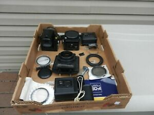 Zenza Bronica SQ-A Camera Medium Format With 1:2:8  80 MM Lens Extra Body & Back