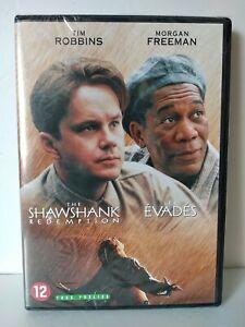 The SHAWSHANK Redemption / Les Évadés DVD Pal zone 2 - Neuf / New & selead