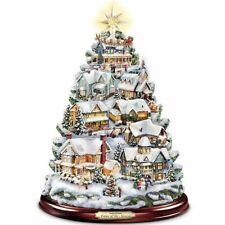 Thomas Kinkade Christmas Tabletop Tree: Songs Of The Season by The Bradford Exch