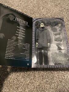 "Sideshow The Vampyre Nosferatu 12"" Figure Silver Screen Edition READ - FLAWS"
