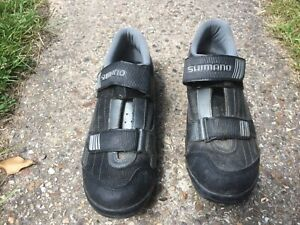 Shimano cycling shoes, used condition. Size 46