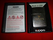 Year 2019 Street Chrome Zippo Lighter With ROLEX Watch Logo + Box Never Used