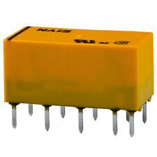 DS2E-M-DC12V, DPDT relay, thru hole MFR: NAIS/AROMAT