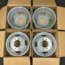 """Set of 16"""" Dually Steel Wheels Rim For 1999-2004 Ford F350SD DRW Super-Duty 3336"""