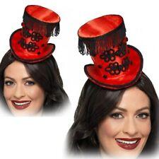 Adultes Monsieur Loyal Chapeau Haut-De-Forme Mini Cirque Carnaval Burlesque
