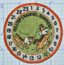 HILLTOP CHANNEL RUNNERS CHIPMUNKS CLOCK PATCH