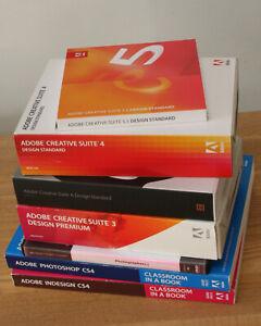 Adobe CS6 Creative Suite Standard Full via upgrades CS3 Premium Full upwards