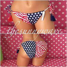 Victoria's Secret Swim String Bikini Bottoms Side Bow Tie Swimsuit Swimwear