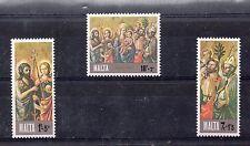 Malta Navidad Serie del año 1976 (DH-750)
