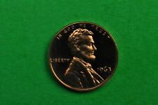 1963  Deep Cameo Lincoln Penny US GEM  Proof Coin