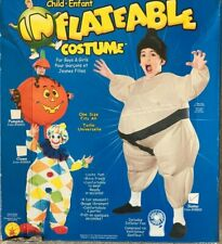 Rubies Sumo Inflatable Child Costume Sealed - One Size - FREE SHIPPING !!!