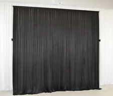 3Mx3M Black Wedding Backdrop Curtain for SALE (10ftx10ft)