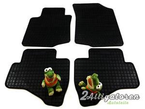 4 x Gummi-Fußmatten ☔ für CITROEN C1 seitdem 2005
