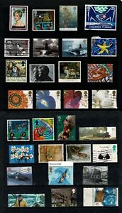 GB Stamps A Selection of  QEII Used Commemorative Stamps #J 2