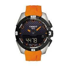 Tissot Watch T-touch Expert Solar Orange Mens T0914204705101