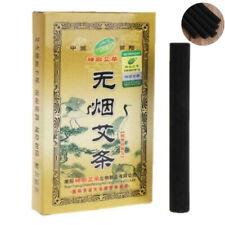 5Pcs Traditional Smokeless Moxa Roll Stick Moxibustion Healing Therapy 14mm 艾灸艾柱