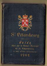 IMPERIAL RUSSIAN GUIDE St. PETERSBURG P.JABLONSKY 1902