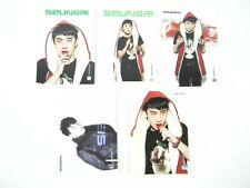BigBang 2011 5 Card Set Official Merchandise KPOP NEW Big Bang Seungri open pack