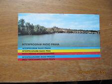 Radio Prague Interprogramme 1981