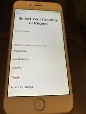 Preowned Working Apple iPhone 6, 16GB Silver, AT&T, Model MG4P2LL/A, No Box