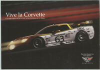 2000 VIVA LA CORVETTE LE MANS RACE C5-R SPORTS CAR,AUTO ADVERTISEMENT CARD