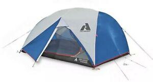 Eddie Bauer First Ascent Stargazer 3-Person Tent w/ Pack & Poles Blue Brand New