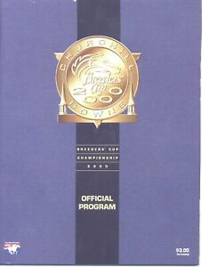 30 - 2000 Breeders Cup @ Churchill Downs programs in MINT Condition