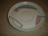 "Rosenthal Germany Abstract Saucer Or Coffee Plate-6 & 5/8"" Across-Unusual Look"