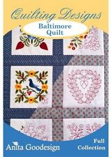 Anita Goodesign Baltimore Quilt Embroidery Machine Design CD