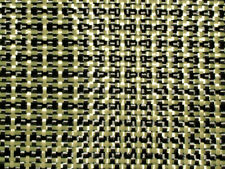 Real Carbon Fibre with Kevlar Cloth Fabric. Plain Weave 3k 180g. 400x300mm (A3).