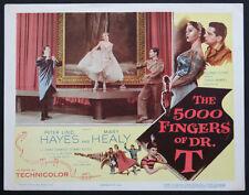 THE 5000 FINGERS OF DR. T HANS CONREID DR. SEUSS FANTASY 1953 LOBBY CARD
