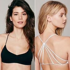 Sexy Femmes Débardeurs Bustier Bra Vest Crop Top Bralette Blouse