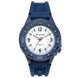 Columbia Self Select Quartz White Dial Silicone Strap Watch CSS13-003 RRP £175