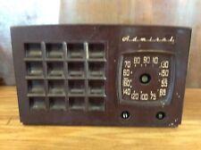 Brown Vintage Mid Century Admiral Super Aeroscope 1949 Radio