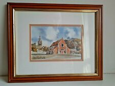 More details for collectible  61/850 print oakham castle & church, rutland  martin goode 14