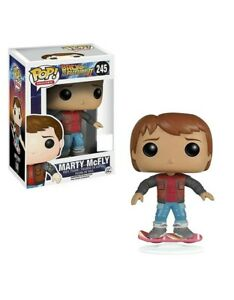 Funko Pop Marty Mcfly Back To The Future 245 patin volador