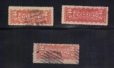Canada Registration Stamp F1 Varieties - Color Types - Sound