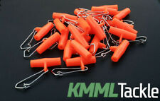 UK seller 50 x Red ZIPS SLIDER BOOMS for boat rigs sea fishing