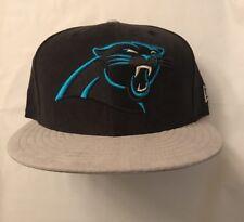 Carolina Panthers New Era NFL Suede 9FIFTY Snapback Cap Hat New