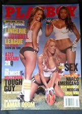 PLAYBOY FEBRUARY 2011 SUPER BOWL LINGERIE FOOTBALL LEAGUE LAMAR ODOM & BONUS