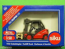 1:50 Siku Super 1722 Gabelstapler Linde